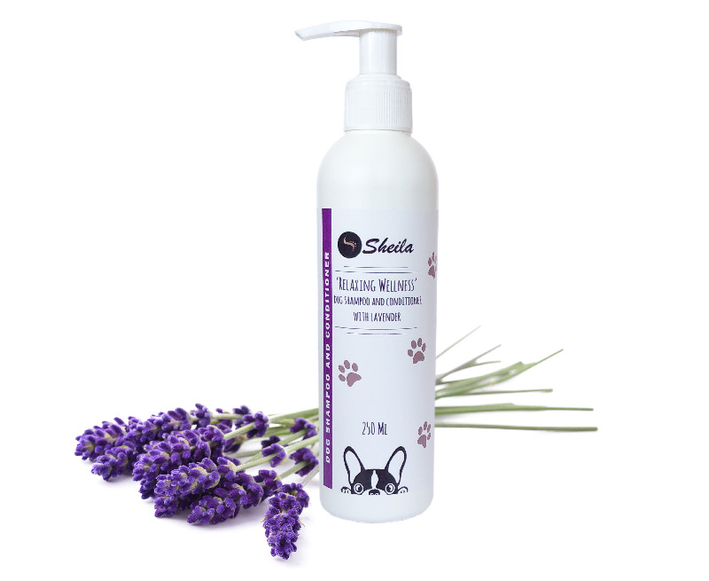 'Relaxing Wellness' Dog Shampoo and Conditioner with Lavender